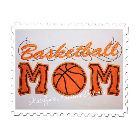 Basketball Applique with a Twist