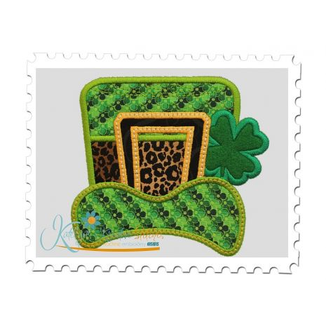St Paddys Day Hat Applique