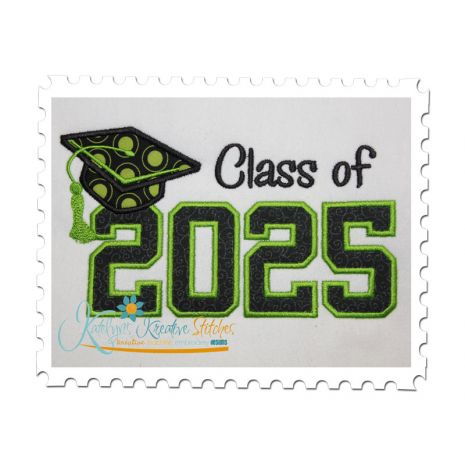 Class of 2025 Applique