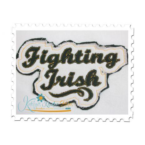 Fighting Irish Distressed Applique