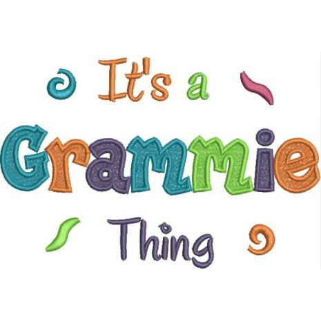 It's a Grammie Thing Fill (5x7) Snap Shot