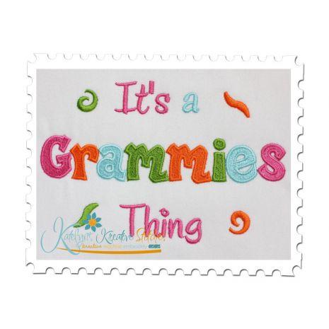 It's a Grammies Thing Fill (5x7)