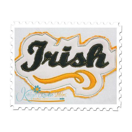 Irish Distressed Applique