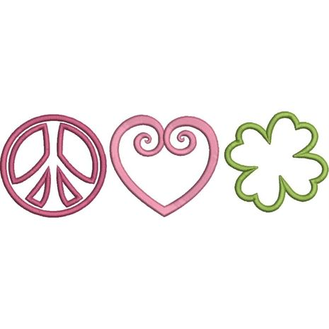 Peace Love and Shamrock Snap Shot