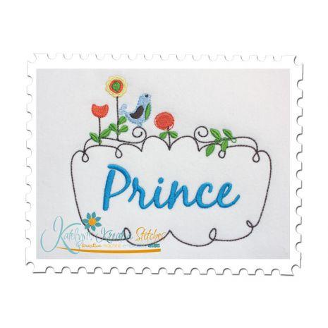 Springtime Prince Frame