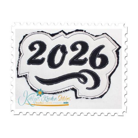 2026 Distressed Applique
