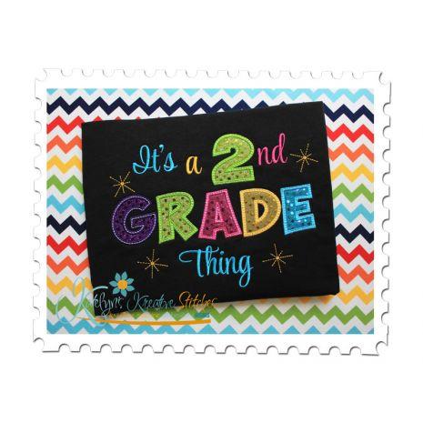 2nd Grade Thing