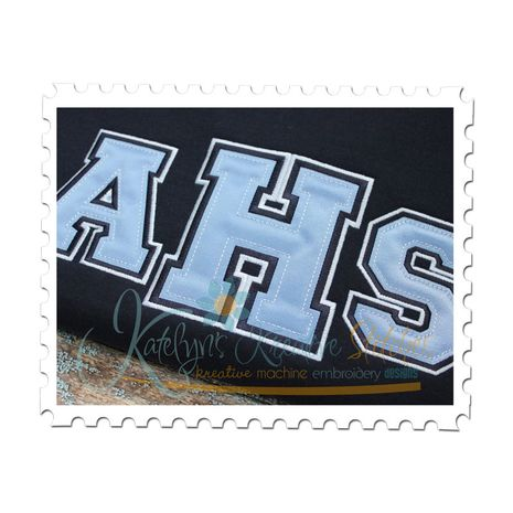College Time Applique Font