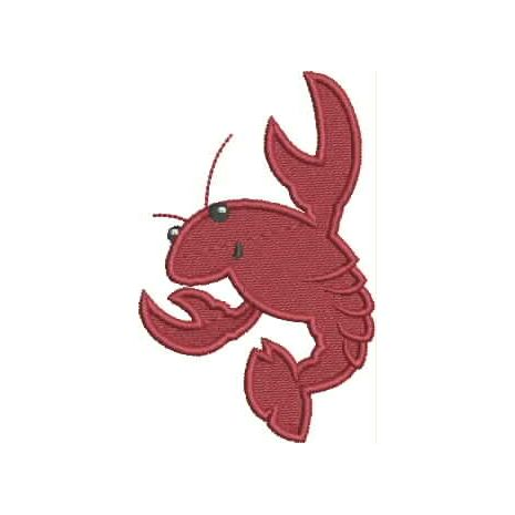 Crawfish Filled Snap Shot (4x4)