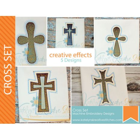 Cross Creative Effects - 5 Designs
