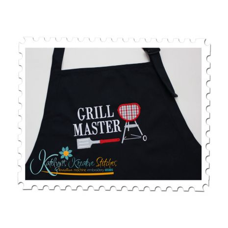 Grill Master (5x7 and 6x10)