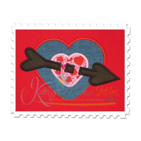 Heart Target Applique