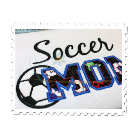 Soccer MOM Applique