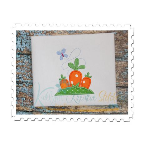Spring Carrots Applique