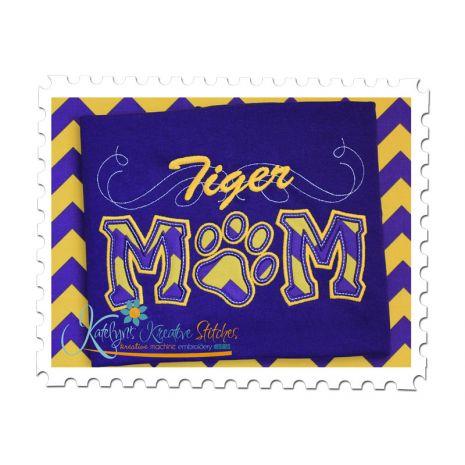 Tiger Mom Applique with a Twist