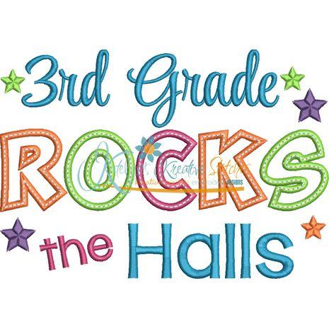 3rd Grade Rocks the Halls Snap Shot