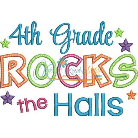 4th Grade Rocks the Halls Snap Shot