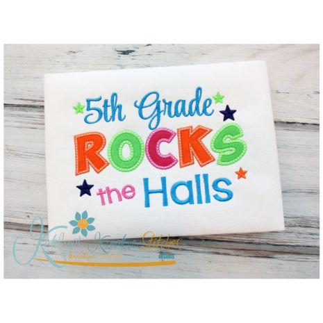 5th Grade Rocks the Halls