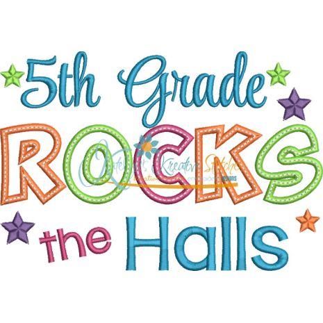 5th Grade Rocks the Halls Snap Shot