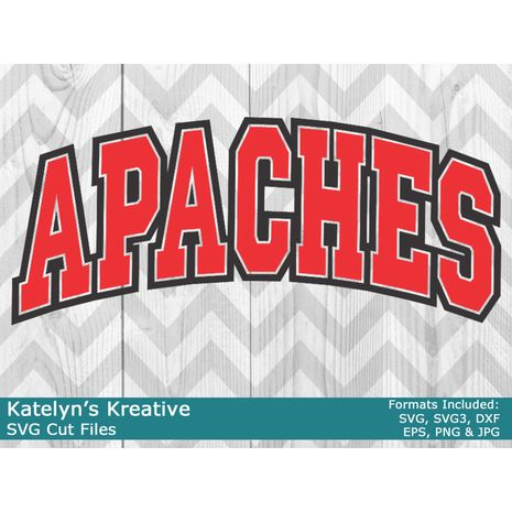 Apaches Arched SVG