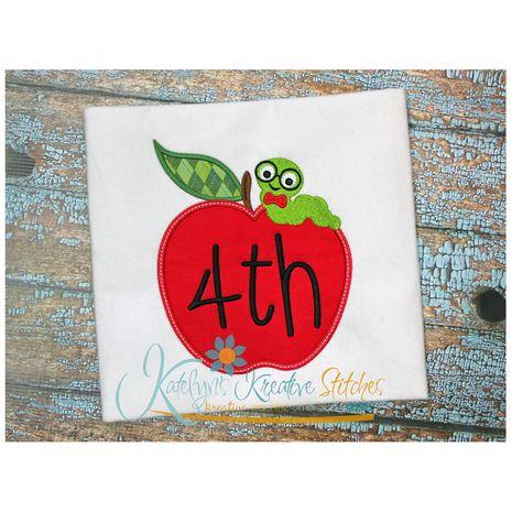 Apple Frame 4th Grade