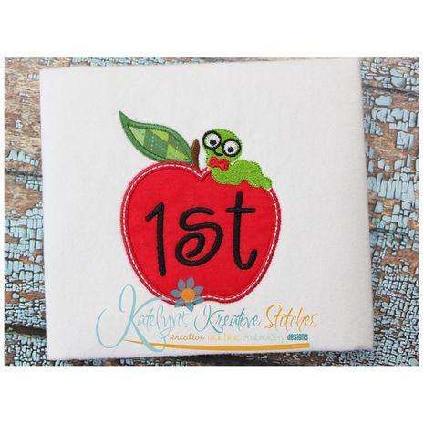 Apple Frame 1st (4x4 Shown)