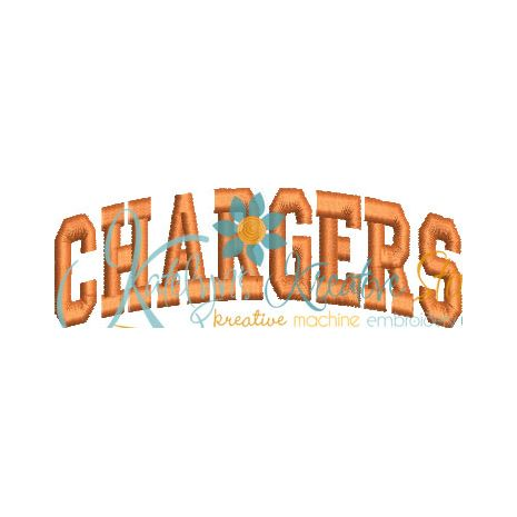 Chargers Arched 4x4 Satin Snap Shot