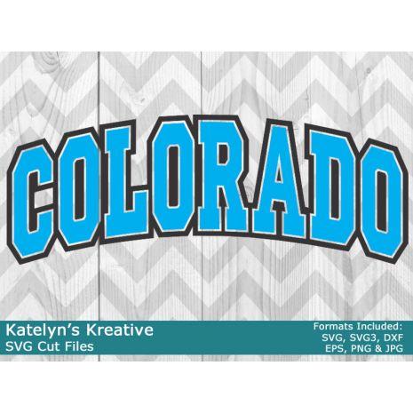 Colorado Arched SVG