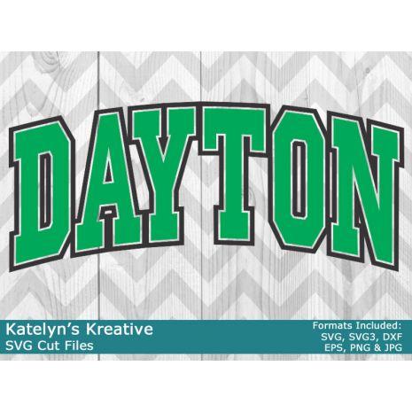 Dayton Arched SVG