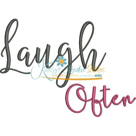 Laugh Often Snap Shot