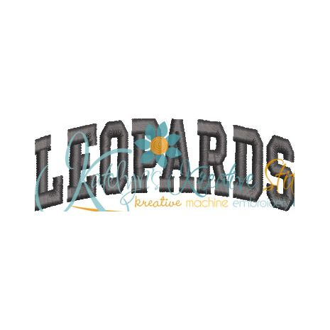 Leopards Arched 4x4 Satin Snap Shot