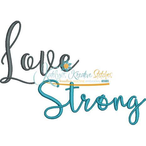 Love Strong Snap Shot