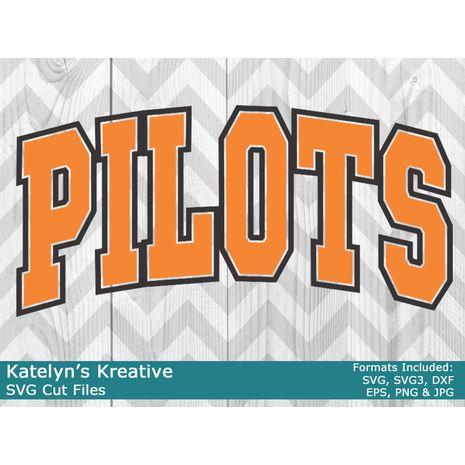Pilots Arched SVG