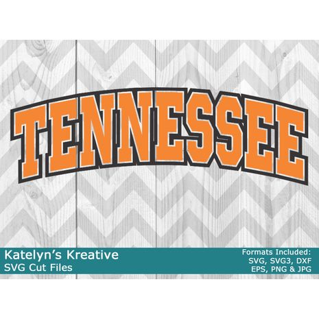 Tennessee Arched SVG
