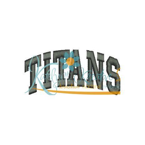 Titans Arched 4x4 Satin Snap Shot