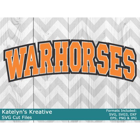 Warhorses Arched SVG