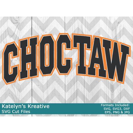Choctaw Arched SVG