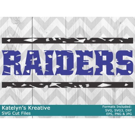 Raiders Distressed SVG Files
