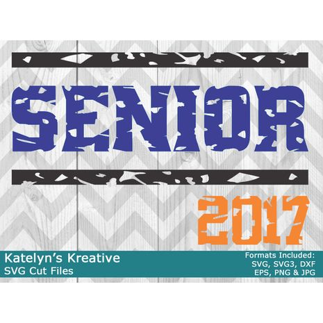 Senior 2017 SVG Files