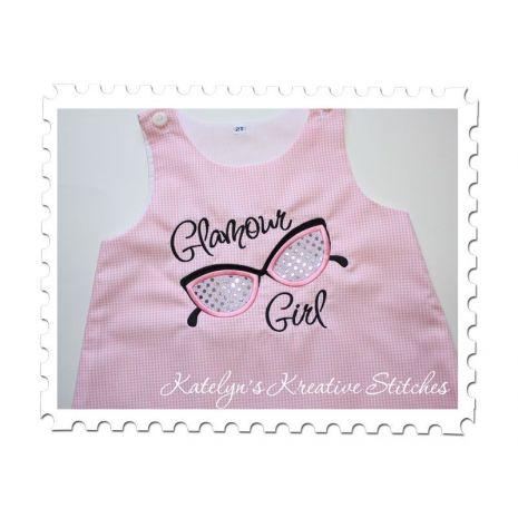 Glamour Girl Applique