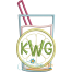 Lemonade Glass Applique Snap Shot (Font not included)